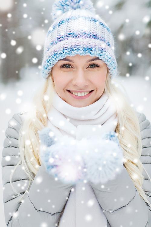 Winter-Frau