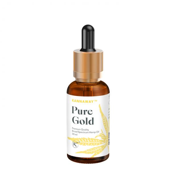 Kannaway Pure Gold Cannabis Öl 30 ml 500 mg CBD